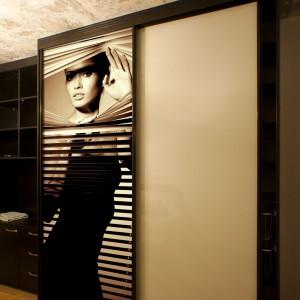 Iebūvējamie skapji ar foto druku uz bīdāmām durvīm