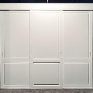 Iebūvējamie skapji ar durvīm bez profiliem